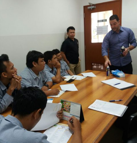 In-House Training Product Lubri Lab di Yamaha Parts Manufacturing Indonesia  & Saitama Stamping
