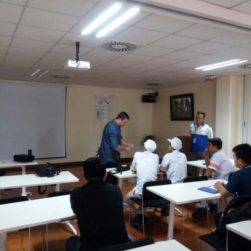 In-House Training Lubri Lab di PT. Nestle Indonesia