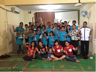 Aksi Sosial ke Yayasan Naroman Maromak Jaya