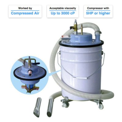 Industrial Air Vacuum Cleaners For Pail Can AVC-55