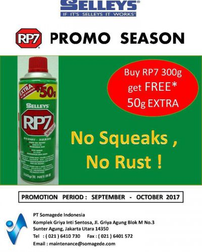 Promo Selleys RP7