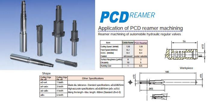 PCD Reamer by ALMT