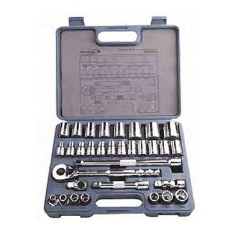 "1/2"" Drive Socket Set, 32pcs (BLPATSM1232) Bluepoint"