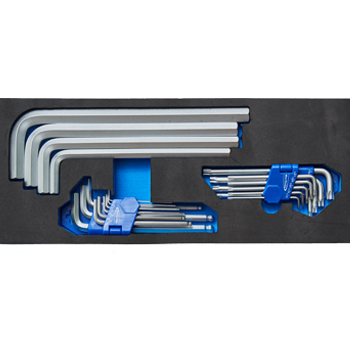 L-Shape Wrench Set (BPS14) Bluepoint