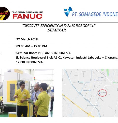 """Discover Efficiency In Fanuc Robodrill"" Seminar"