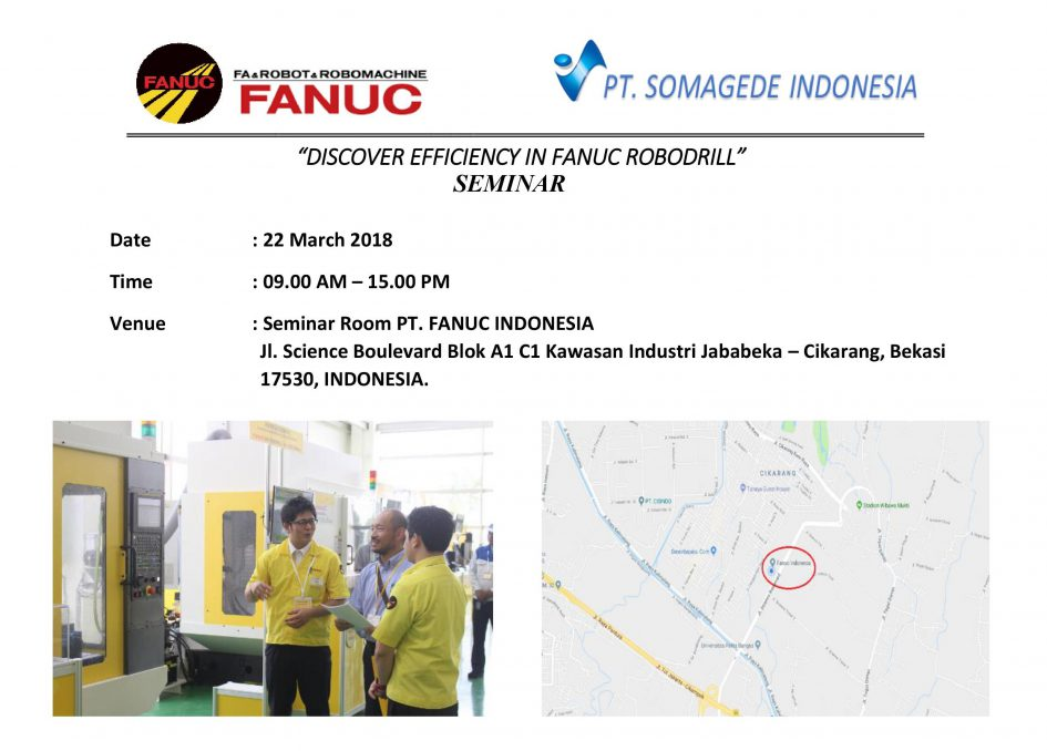 Discover Efficieny In Fanuc Robodrill