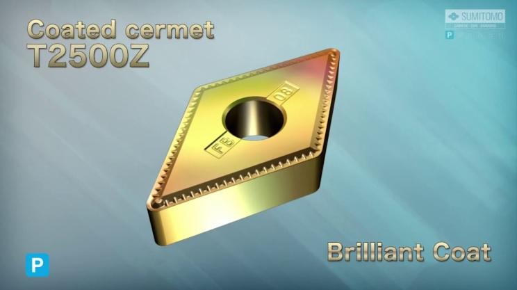SUMITOMO - Coated Cermet T2500Z