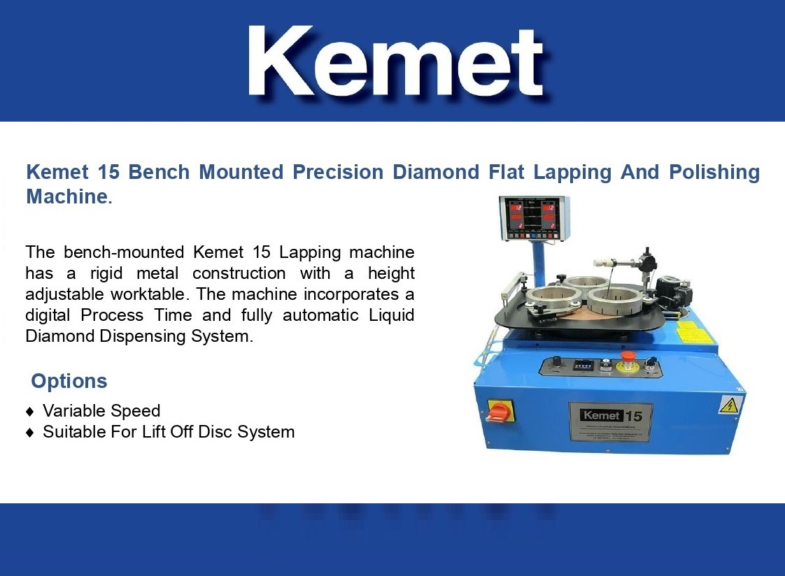 KEMET 15 Bench Mounted