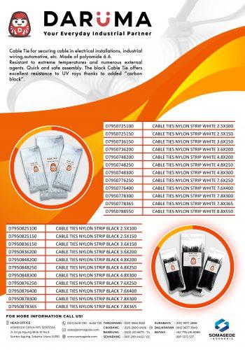 Flyer Cable Tie - Daruma